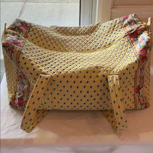 Vera Bradley Large Duffel Bag Zip Up